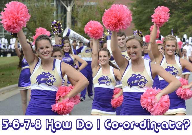 Coordination Cheerleaders