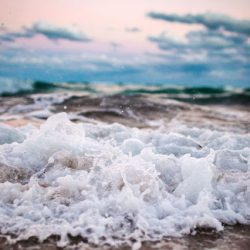 Ocean waves to melt away stress