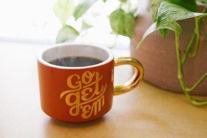 Go Get 'Em Coffee Cup